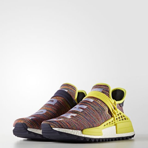 1a40a51b03bb5 SOLD ADIDAS PHARRELL WILLIAMS HU NMD TR MULTI 7 Sold out - Depop