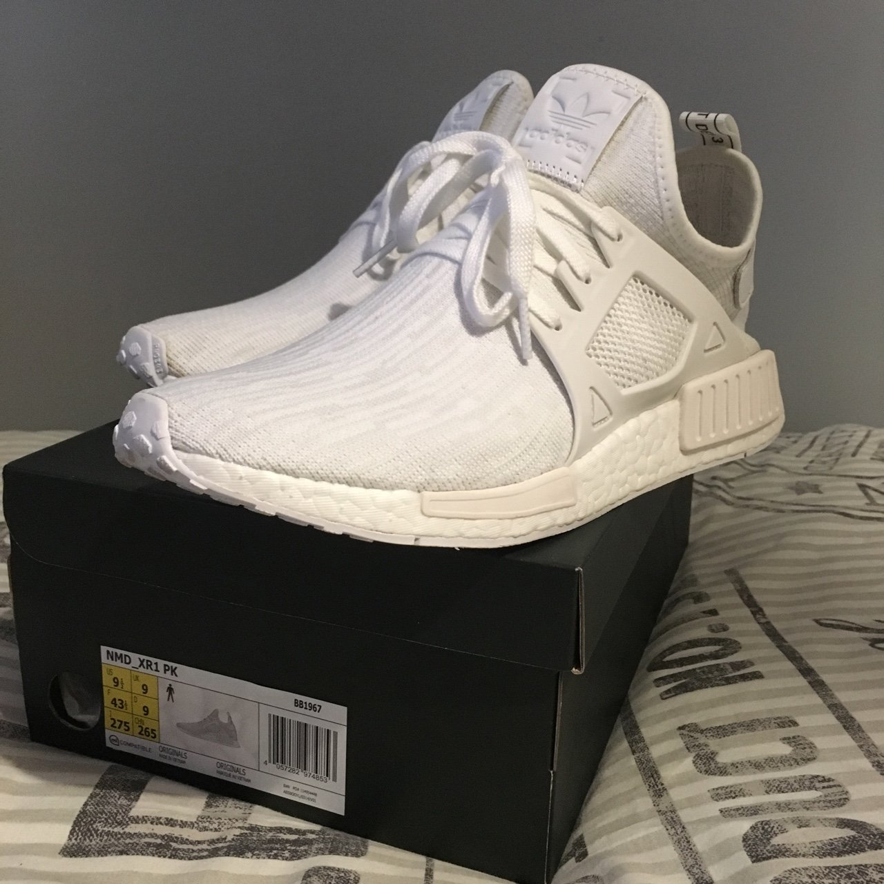 reputable site deb9f eb95e  charlie hatton. 2 years ago. Witney, UK. Adidas NMD XR1 PrimeKnit ...