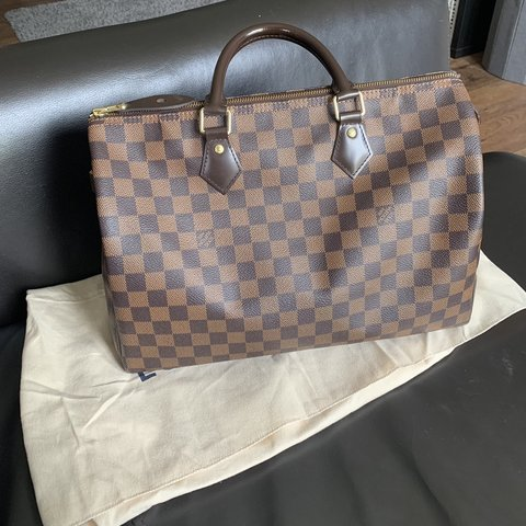 705e02bc185f Louis Vuitton Speedy 35 Damier Ebene