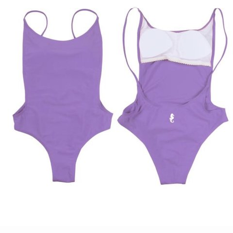 3aabf55d0b @bythemorningsun. last year. Northport, United States. NWT Sunny Co.  Clothing Pamela Sunny one piece swimsuit in lavender. Brand new ...