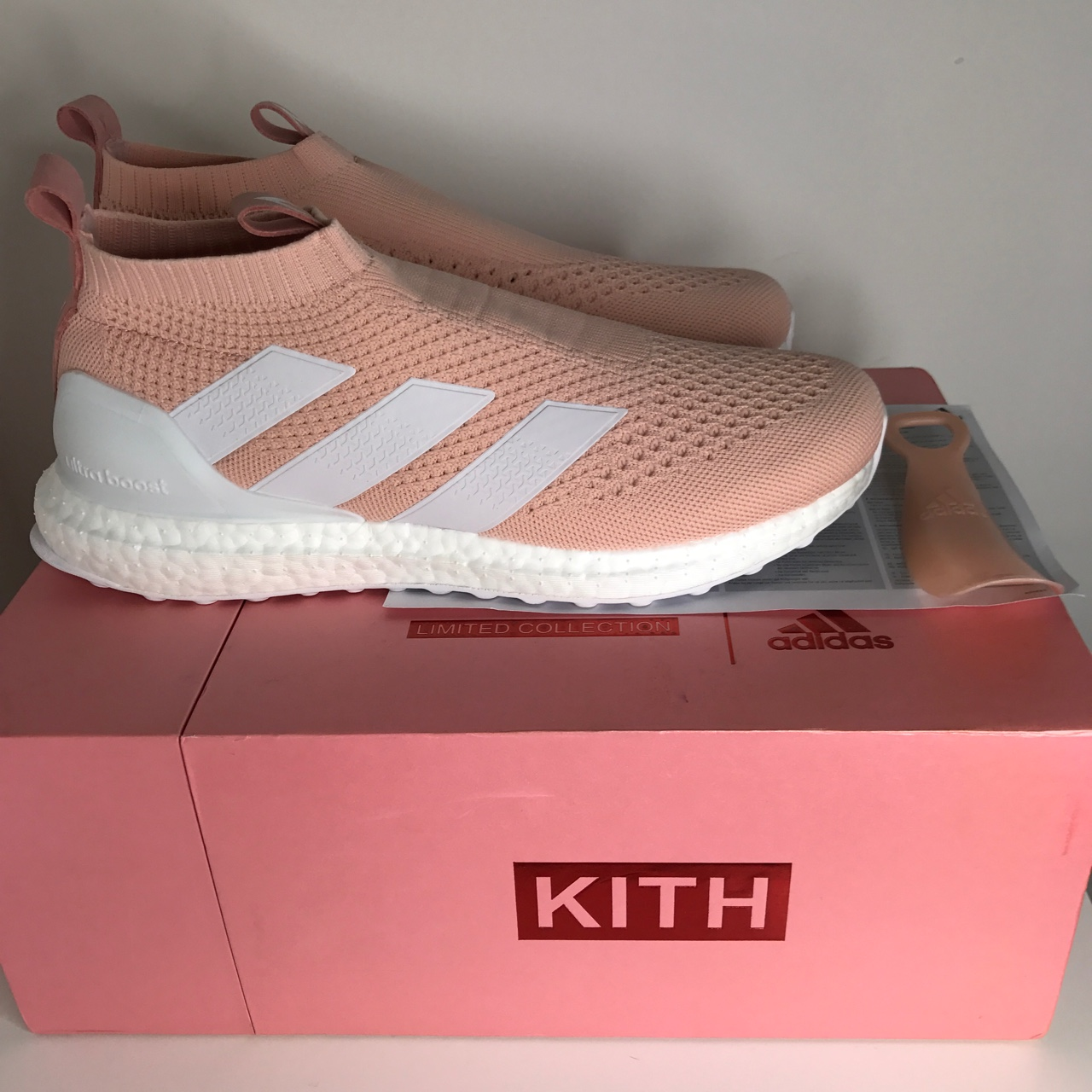 reputable site a5d5b 7af8b Adidas x Kith Ace PureControl 16 Ultra Boost for... - Depop