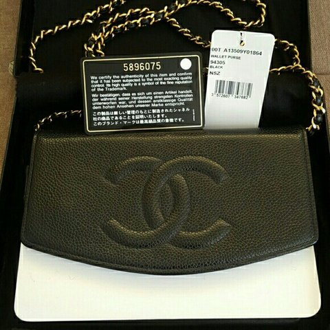c4577cce1 Auth Chanel WOC with original package. Pre-owned in Short - Depop