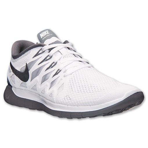 newest 8f5de 1bc33 Selling these nike free run 5.0 in white and grey,... - Depop