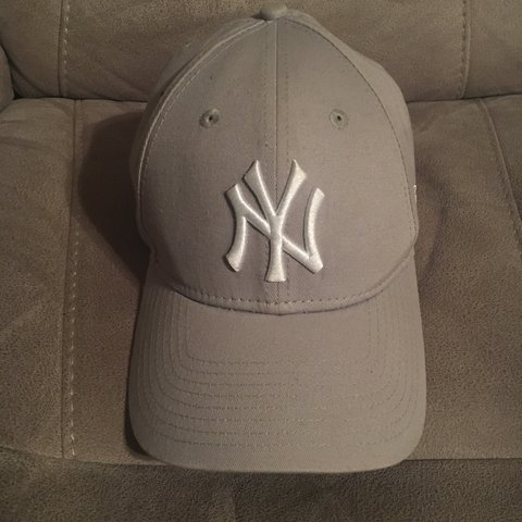 14150b02bee ... denmark new era 9forty grey ny yankees cap brought from asos a depop  be257 b5ae5