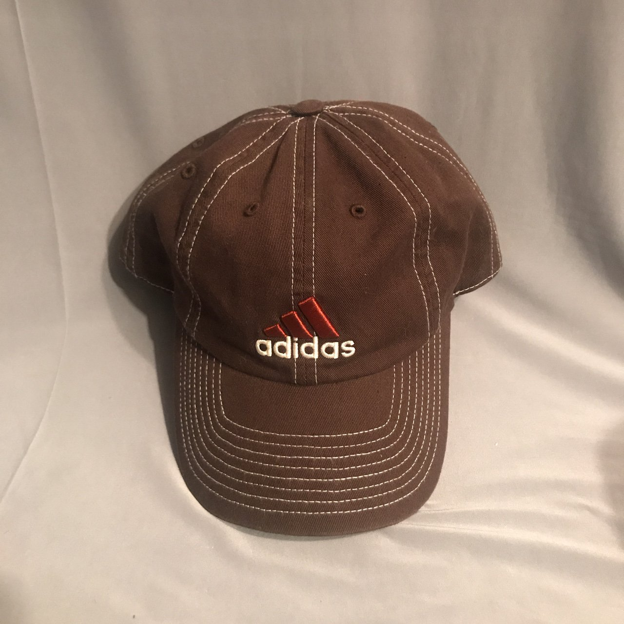 9862bfc8d61 Chocolate Brown Adidas baseball cap. Worn only a few times