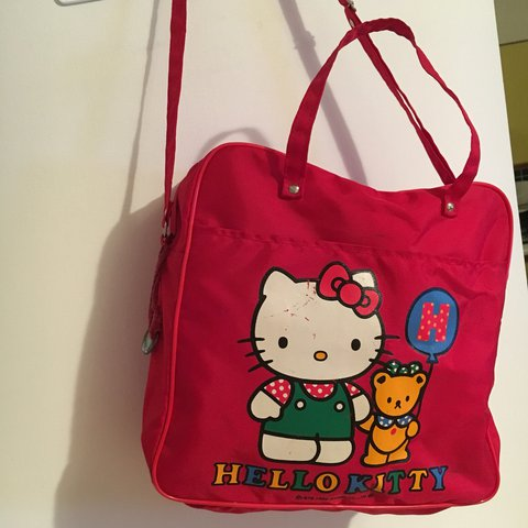 394afa1bd47d Vintage hello kitty bag! Authentic rare Sanrio from 1980s is - Depop