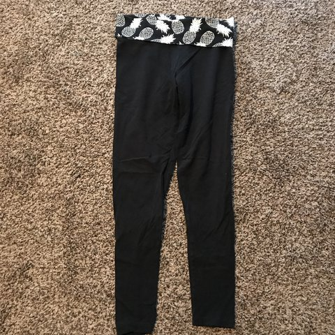 2929e07cc6196f @cierradjordan. last year. Reynoldsburg, United States. Victoria Secret pink  cotton yoga pants with fold over ...