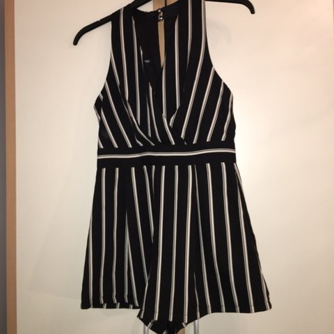 030690e85bb Boohoo striped playsuit. In perfect condition worn once