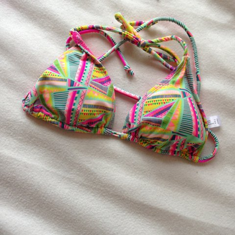 2297ce01c3 Lovely bikini top. Size 10 but too size for me. Perfect for - Depop