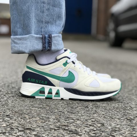 the latest 1f11f f673a Vintage Nike Air stab trainers- 0