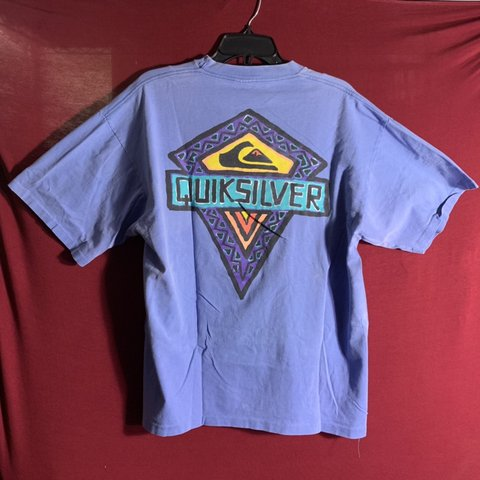 6f4c9a4b Quicksilver Vintage T Shirt Single Stitch Rare Find Depop