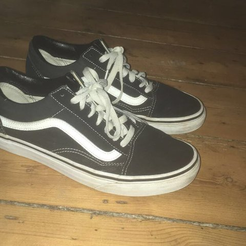 Black old skool VANS great condition worn max 3 times 92b3d28dd