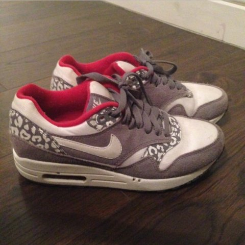 premium selection 3cb30 9e671  laurens0709. 3 years ago. Greater Manchester, UK. Nike air max with grey  leopard ...