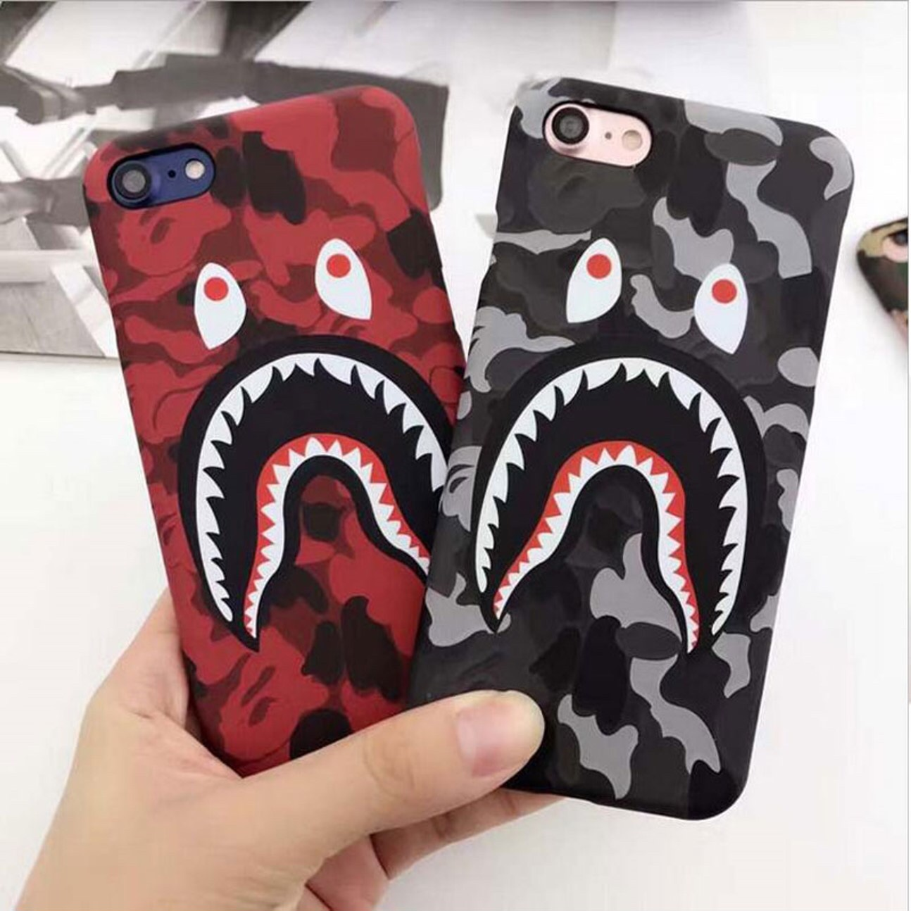 competitive price 7d828 bd061 BAPE IPHONE CASE FREE SHIPPING Available... - Depop