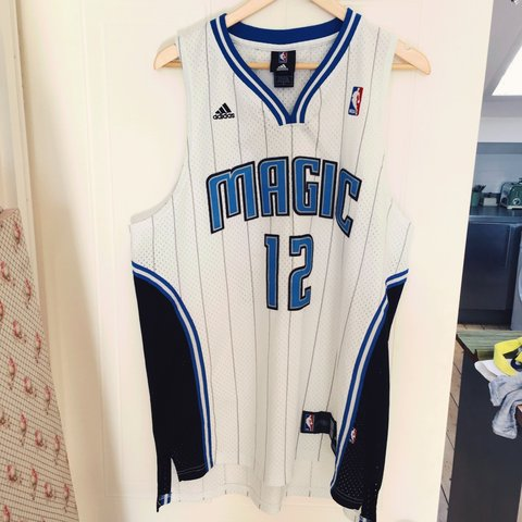 3bd54c30414a Authentic basketball jersey Orlando Magic Dwight Howard 12. - Depop