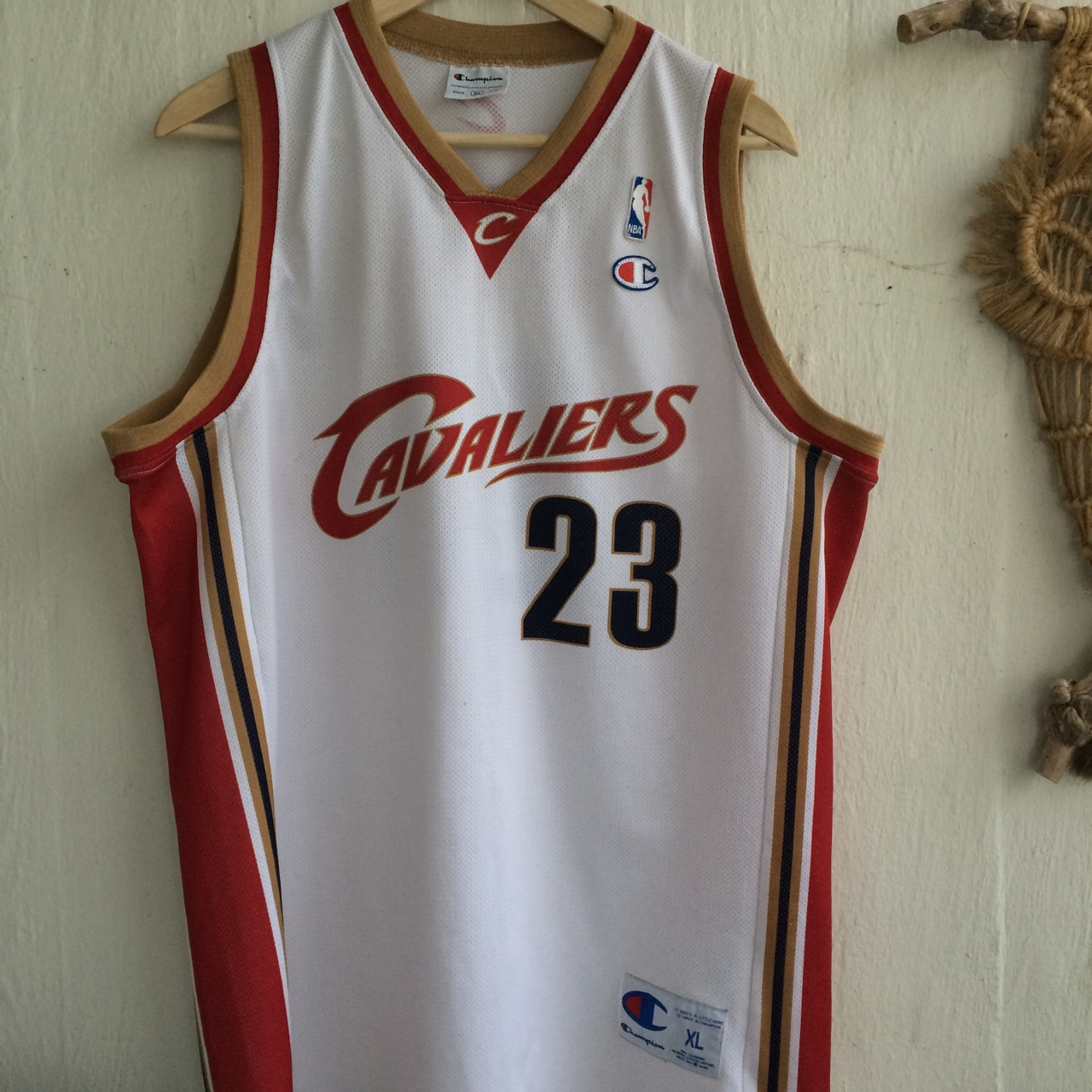 finest selection f033a a97cf CAVALIERS OG CHAMPION LEBRON JAMES 23 NBA ...