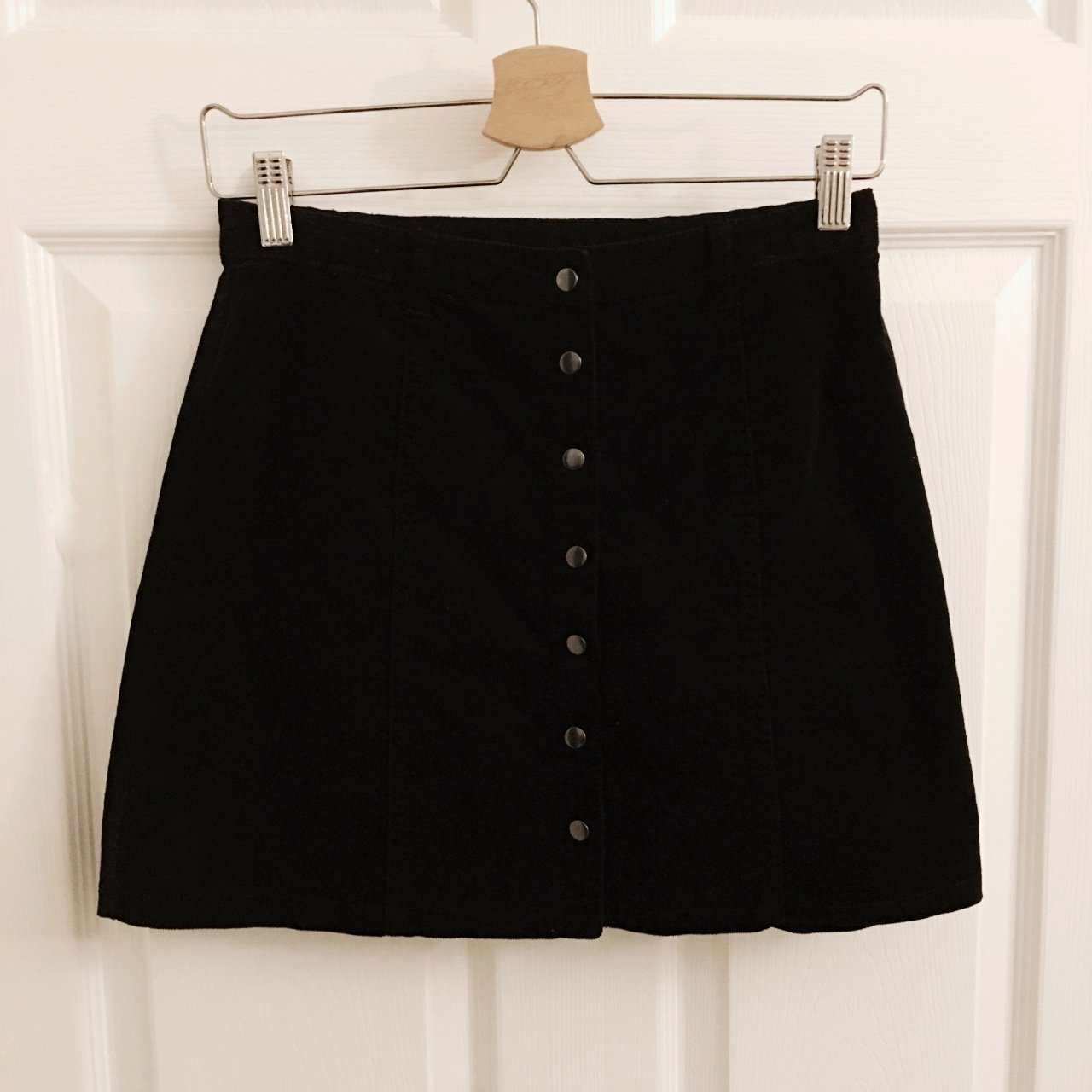 cefd7e6cba Corduroy Button Up Skirt Forever 21