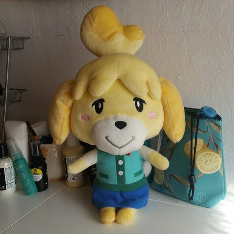 Animal Crossing New Leaf Isabelle Shizue Plush Doll From A Depop