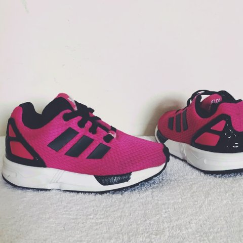cd974bdce6a9b Girl s ADIDAS Torsion Trainers Pink UK Size 7 Kids. Have in - Depop