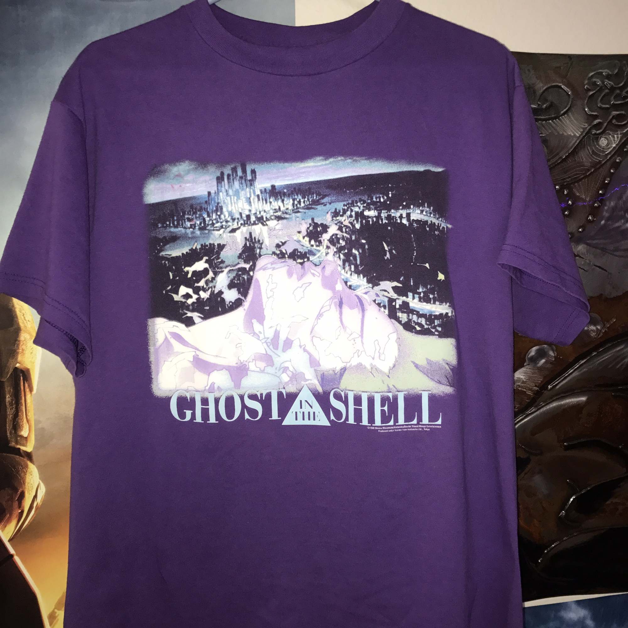 Vintage Ghost In The Shell Shirt 1999 Shirow Depop
