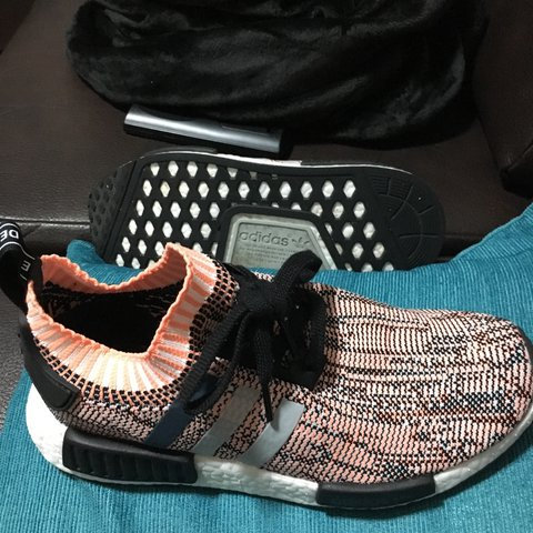 d31e2703a3a81 NMD R1 sun glow Tri colour PK women s size 6 UK Worn twice