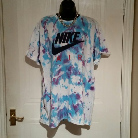 f418ce9a7 Brand new on trend diy nike air tie dye tshirt top tee mens - Depop