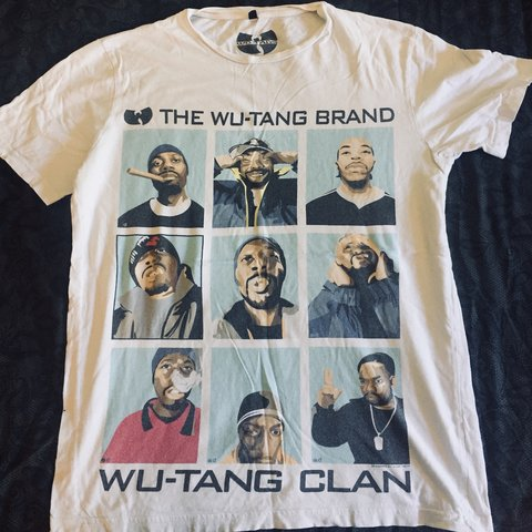 6e7f0450 @riggles. 11 months ago. New York, United States. Wu-Tang Clan vintage  merch T-shirt. Rare.