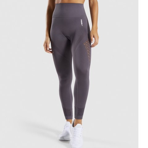 942e87d0a33ed @morgandubberly. 18 days ago. Powder Springs, United States. Slate lavender energy  seamless leggings size xs! Perfect condition