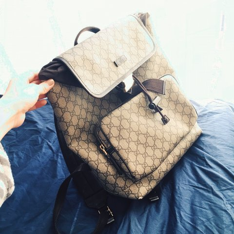 a953d9b263a600 Gucci backpack. Used. - Depop