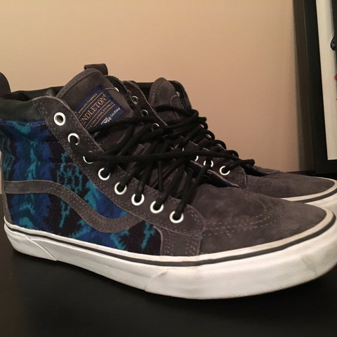 Vans x Pendleton only worn one time out in New York db54787ef0b