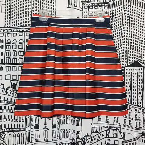 8e40e42b70 @sorryrich. 10 days ago. Harlingen, Cameron County, United States. Nwt J. Crew  Factory Pleated Printed Skirt