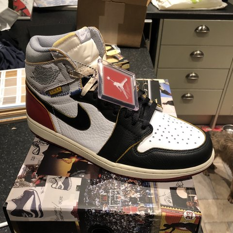 6ab6cf0bfe7a Nike Air Jordan 1  Union  Brand new deadstock Size 9.5 for - Depop