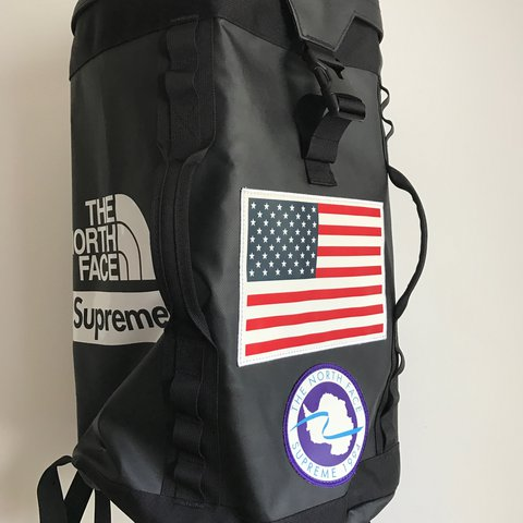Isaacashley 2 Years Ago Cornwall Uk Supreme X North Face Trans Antarctica Expedition Big Haul Backpack