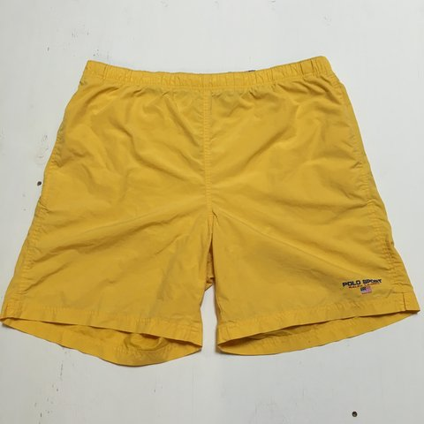 b2ce1df35c @nvrfrgt. 3 years ago. Worcester, MA, USA. Polo Sport Ralph Lauren swim  trunks. Size: Medium.