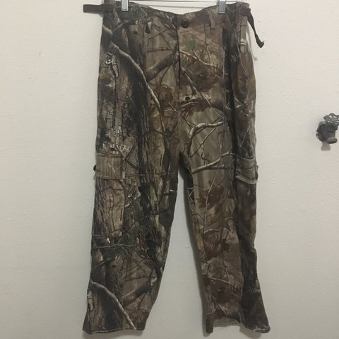 e8ab6471369f2 @schoolyp. 10 months ago. Portland, United States. REALTREE / CAMO /  MOSSYOAK whatever high waisted bdu style cargo pants. waist ...