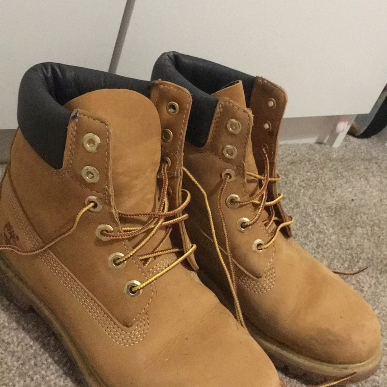Womens timberland boots -Size 6 -Good condition -Genuine - Depop 915b749a8