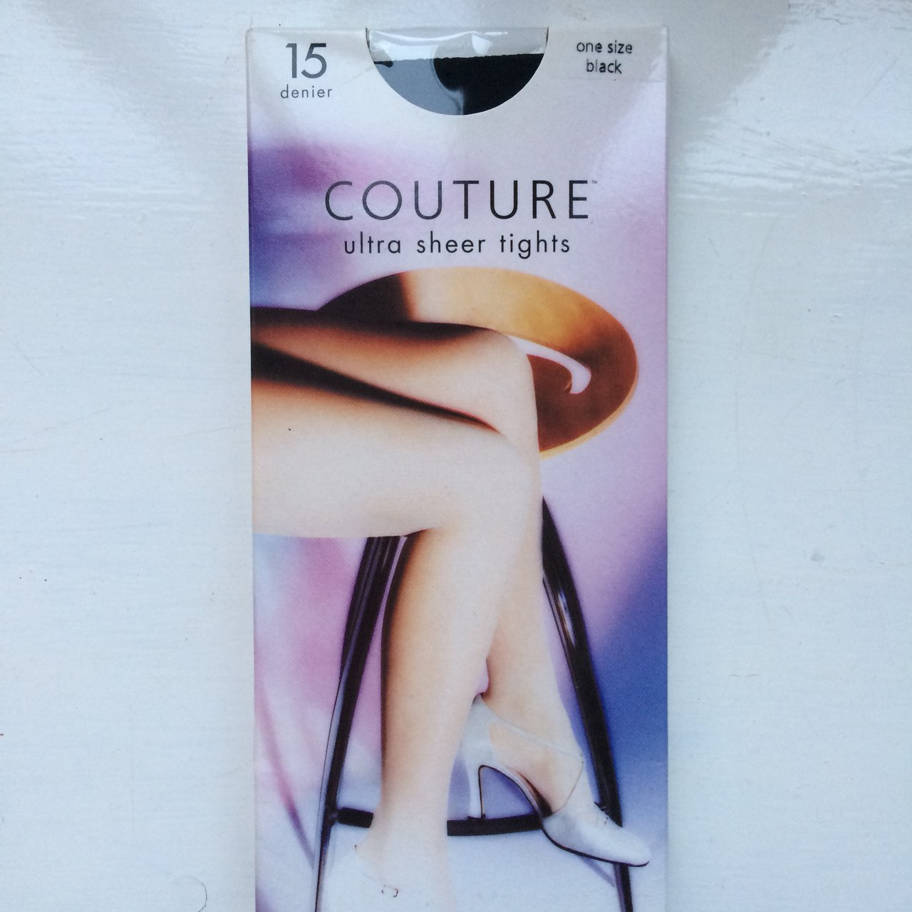 ecd8b9b72e9 Couture ultra sheer tights. Black 15 denier - Depop