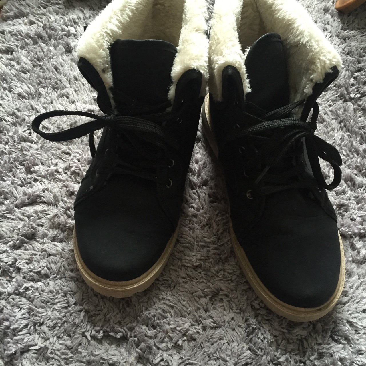 e8be93c07296 Worn twice- boohoo boots size