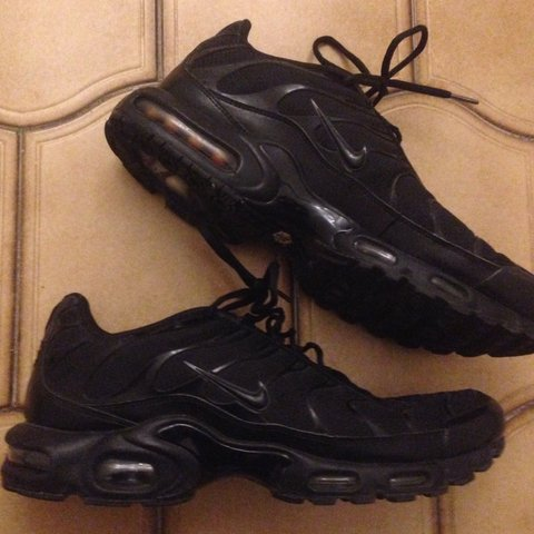 cb3f28c0f1 @pierp_sans. 9 months ago. Rome, Italy. Nike Air Max Plus Tn Triple Black  EU 47.5 US 13 UK 12