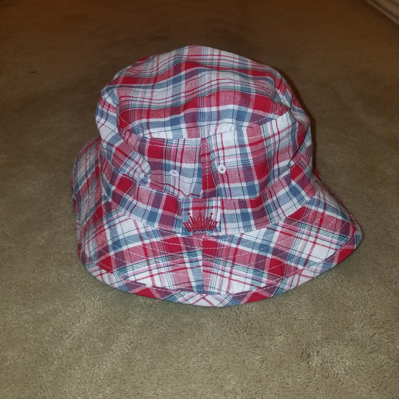 Reversible Budweiser bucket hat one size fits all - Depop 2e3c865fa7b