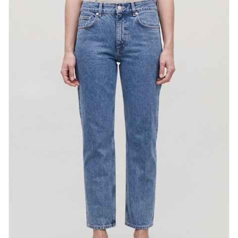 7ad35e22b379 BRAND NEW UNWORN COS JEANS COS Slim Fit, Low Rise, Cropped - Depop