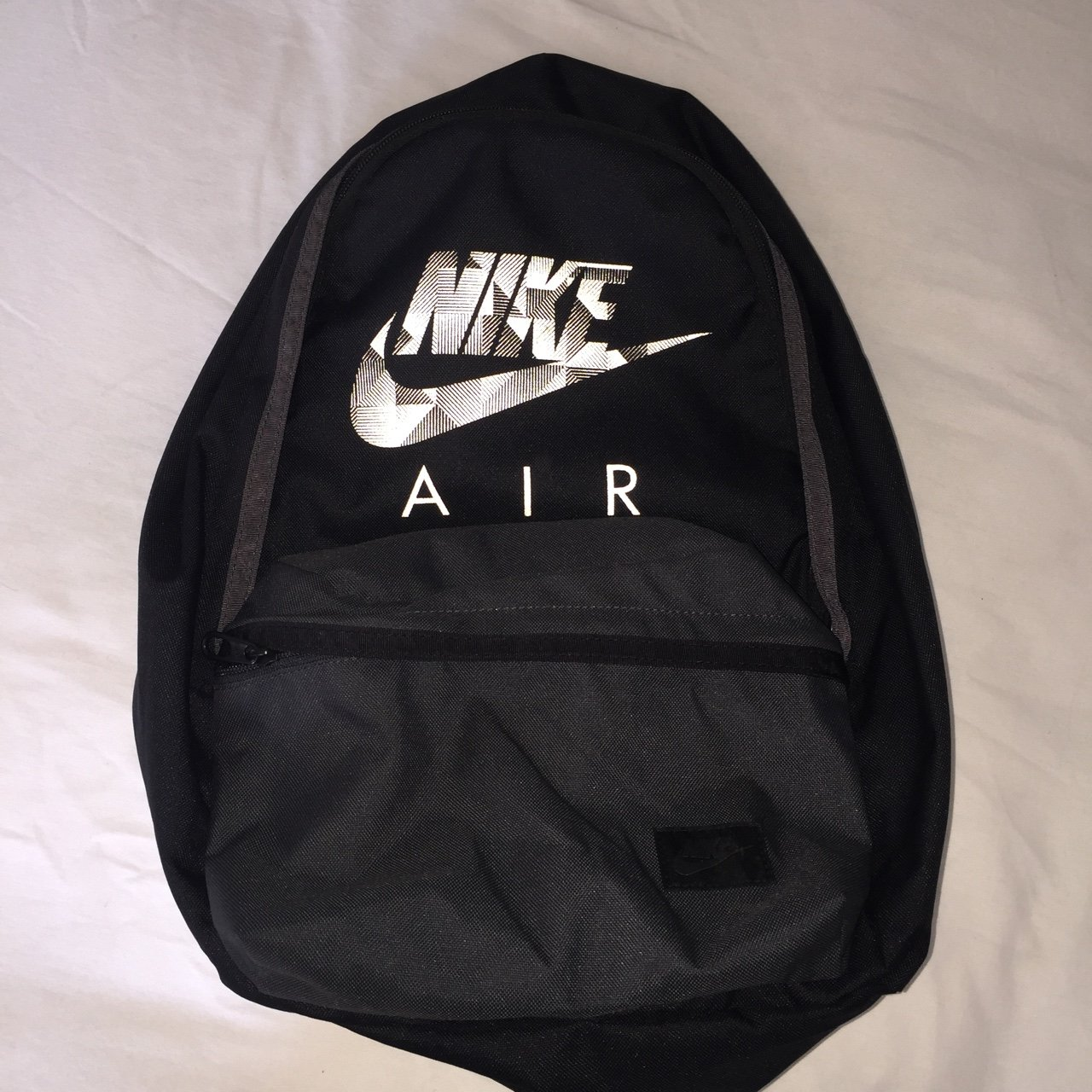 41f00d77a29e3 Nike air backpack. Bought from jd but hardly been used.  air - Depop