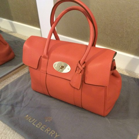 9deb4741d6 Mulberry Bayswater burnt peach. Brand new. Unused. Comes Not - Depop