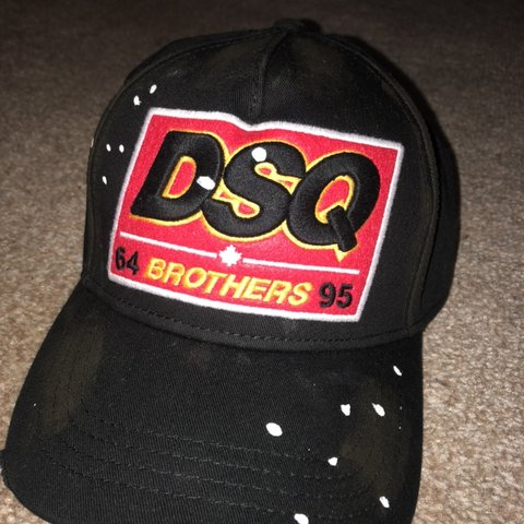 fa677c8327bc9 DSQ patch baseball cap. Bought as a Christmas present new - Depop
