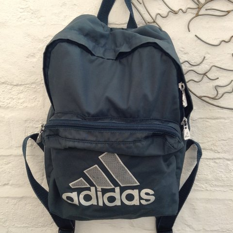 c754dbbf0d @hazeloguz. 3 years ago. Norwich, Norwich, Norfolk, UK. Vintage adidas  rucksack backpack bag. Retro 90s sportswear.