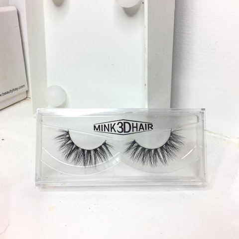 593e6b98f33 3D Mink lashes // style 'Vogue' 15+ wears with proper care. - Depop