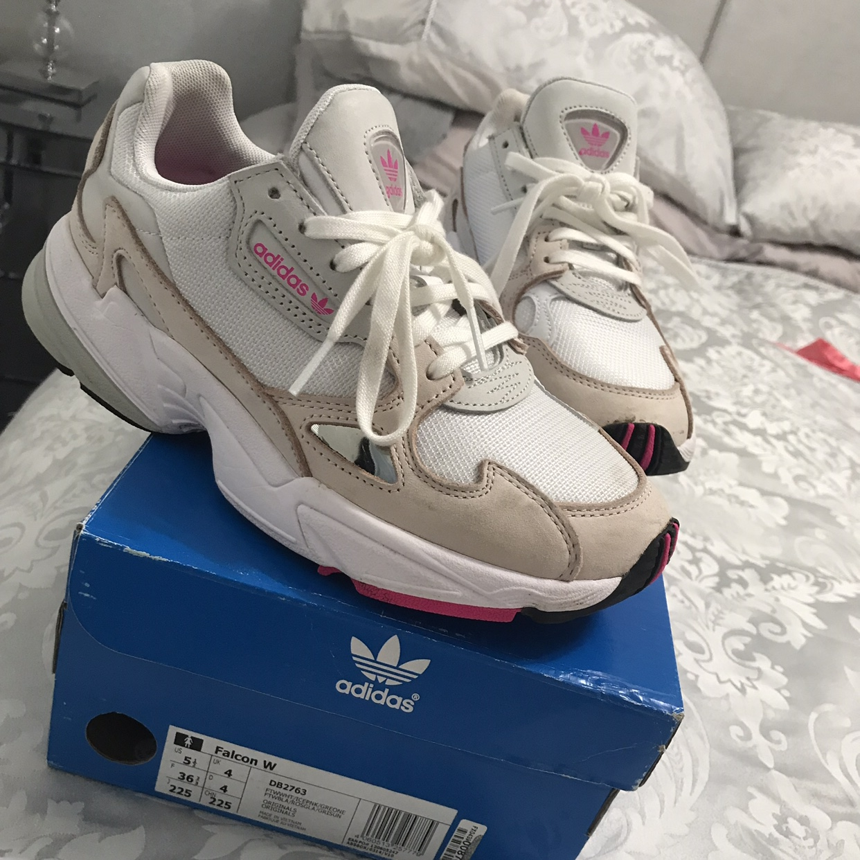 Adidas Falcon By Kylie Jenner Size 4