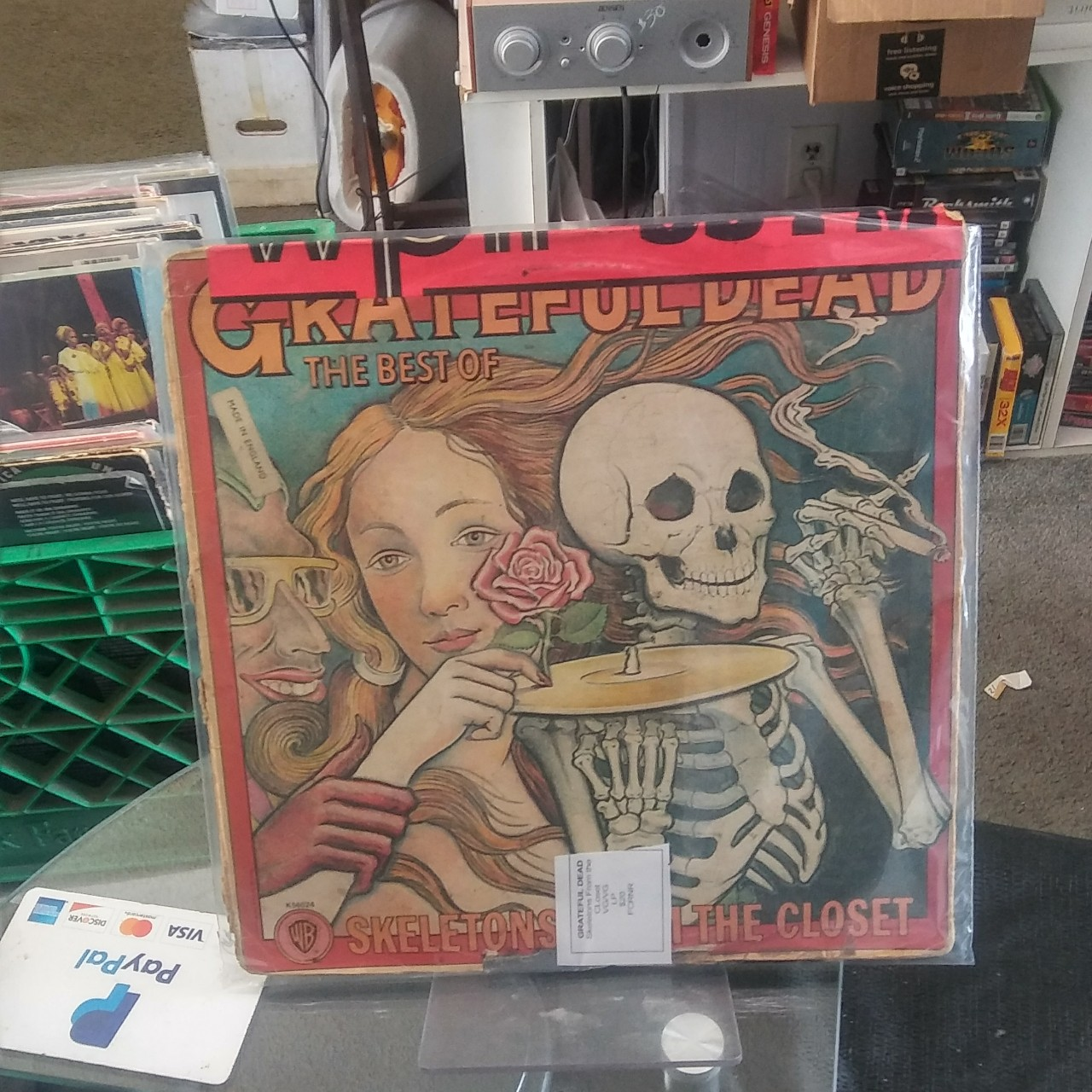 Grateful Dead Skeletons In The Closet Orig 1972 Lp Depop