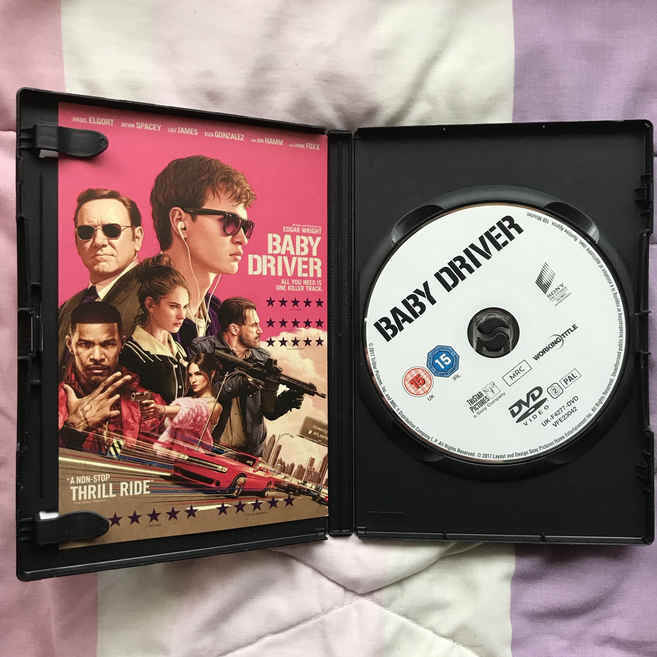 Baby Driver DVD Brand new, never watched. Was a gift Depop