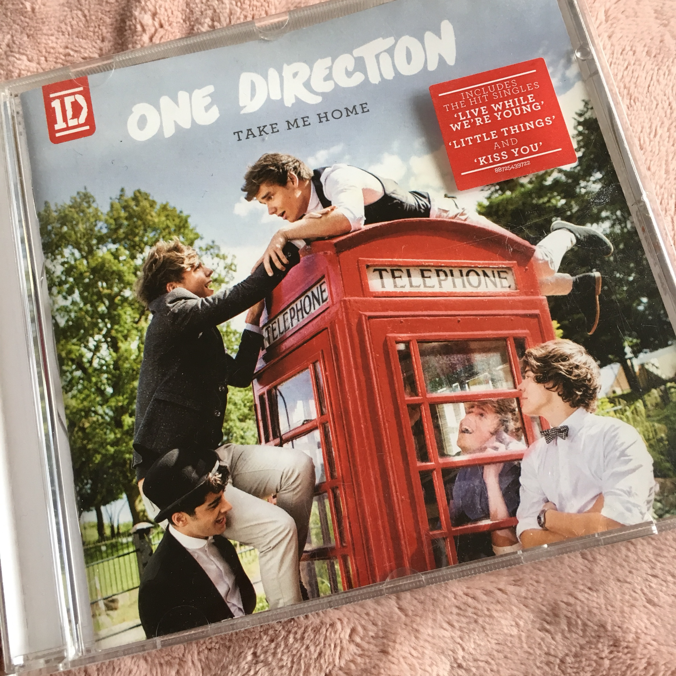 One Direction Take Me Home CD // used, in good    - Depop